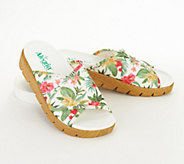 Alegria Dream Fit Adjustable Slide Sandals- Airie - A352815