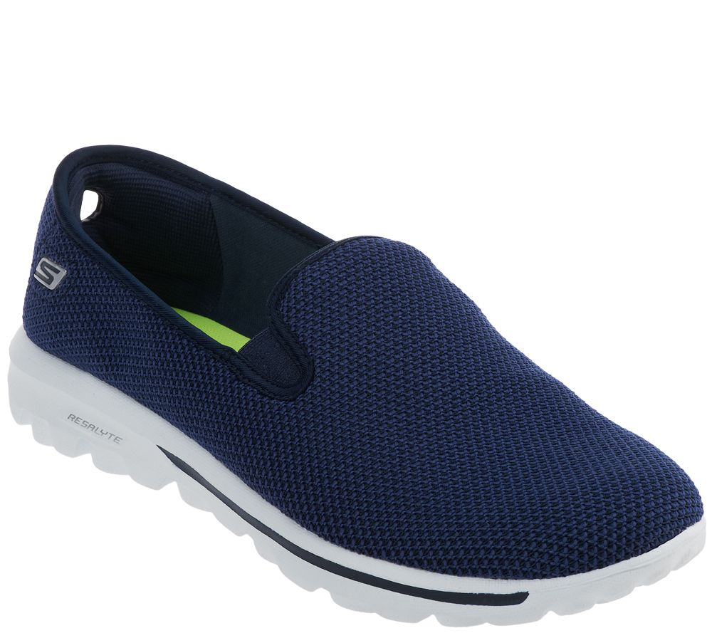 the best attitude f2244 b6647 Skechers GOwalk Slip-on Mesh Sneakers - Dazzle - Page 1 — QVC.com