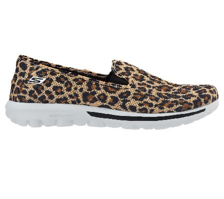 skechers gowalk slip-on mesh sneakers - dazzle - page 1 — qvc.com
