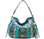 Aimee Kestenberg Pebble Leather & Suede Hobo - Tuscany - A282316