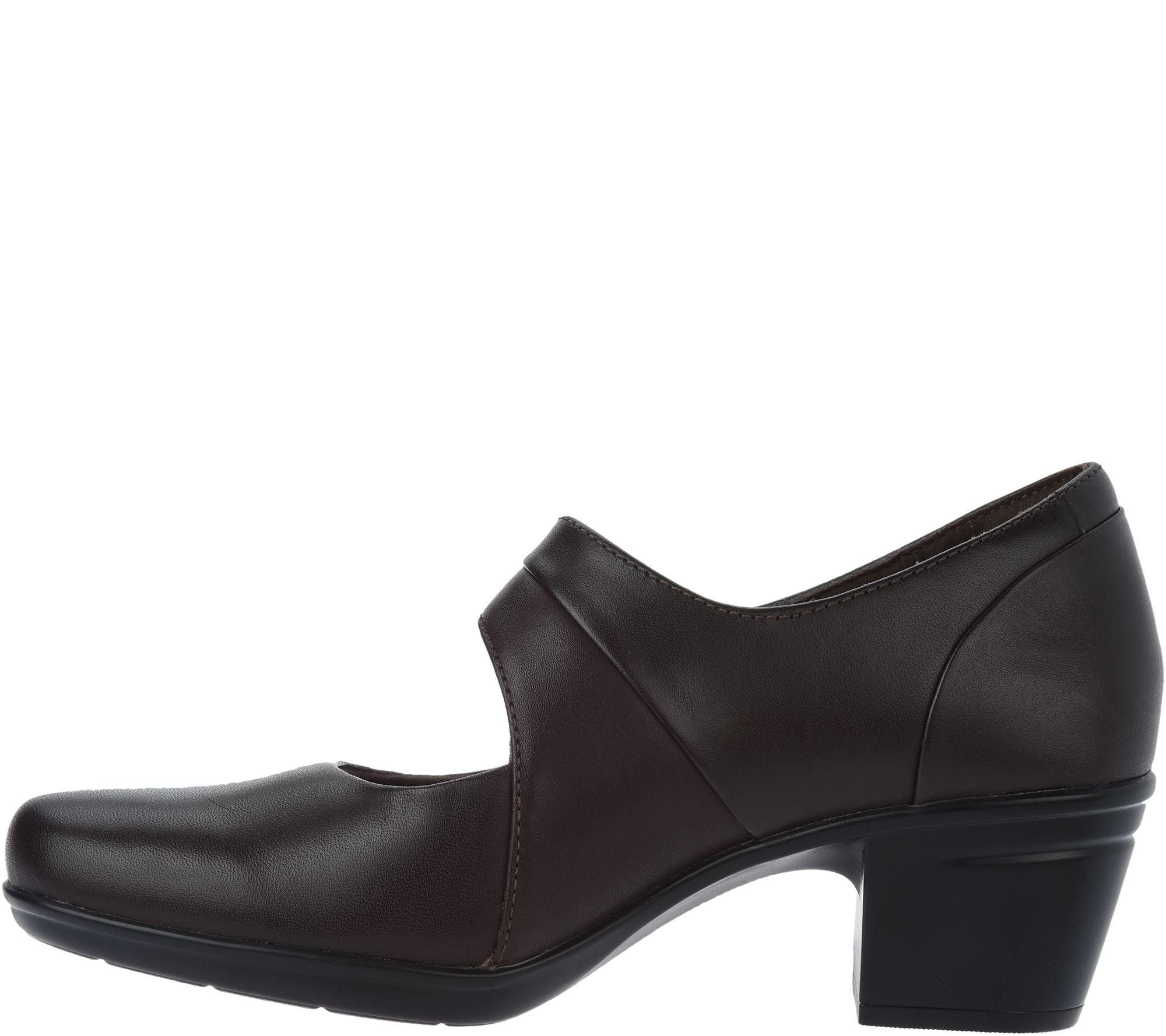 9b999013ae7 Clarks Leather Adjustable Mary Janes- Emslie Lulin - Page 1 — QVC.com