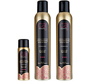 Caj Beauty Volumizing Fragrance Hairspray Duo with Travel - A298516