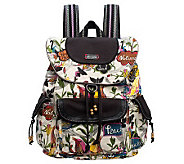 Sakroots Artist Circle Flap Backpack - A327116