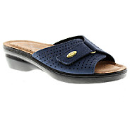 Flexus by Spring Step Kea Leather Slide Sandals - A332016