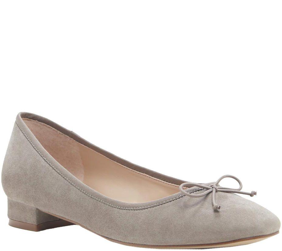 ce245154104b Sole Society Block Heel Leather Slip-Ons - Anastasi — QVC.com