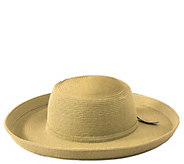 San Diego Hat Co. Paperbraid Kettle Brim Hat - A414716