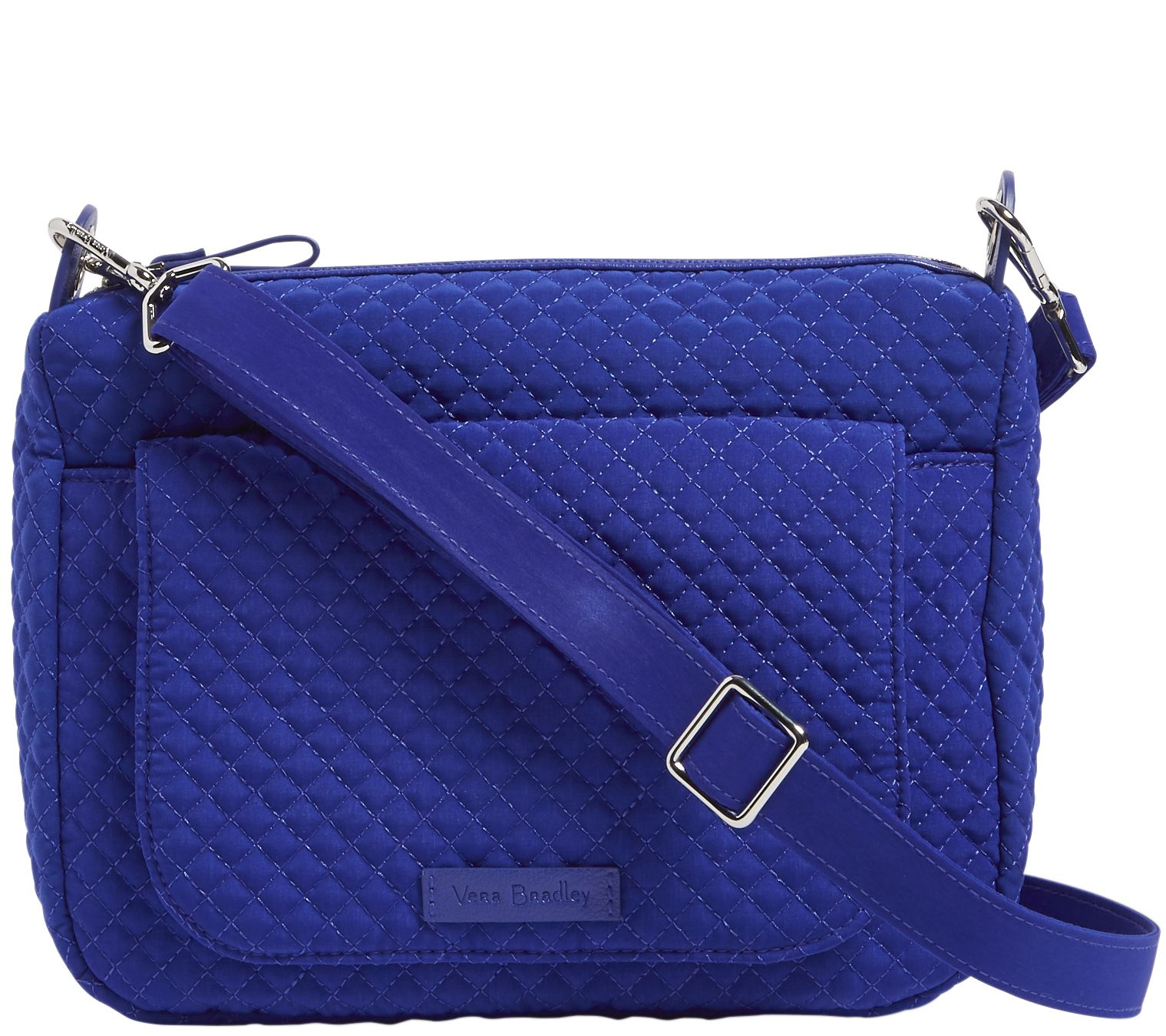 Vera Bradley Microfiber Carson Mini Shoulder Bag - Page 1 — QVC.com 410304dd39def
