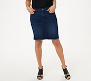 Jen7 by 7 For All Mankind Pencil Skirt - A424416