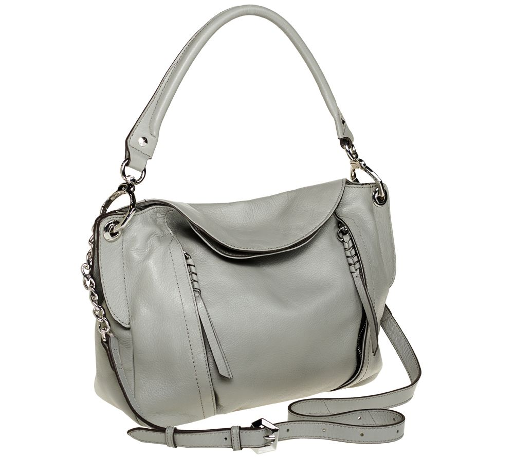 Oryany Danielle Italian Leather Convertible Shoulder Bag Page 1 Qvc