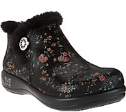 As Is Alegria Water Resistant Leather Ankle Boots - Meri - A290917