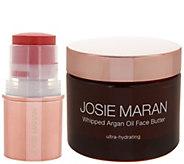 Josie Maran Argan Oil Face Butter w/ Color Stick Auto-Delivery - A296517
