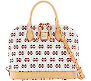 Dooney & Bourke NCAA Mississippi State Zip Zip Satchel - A283218