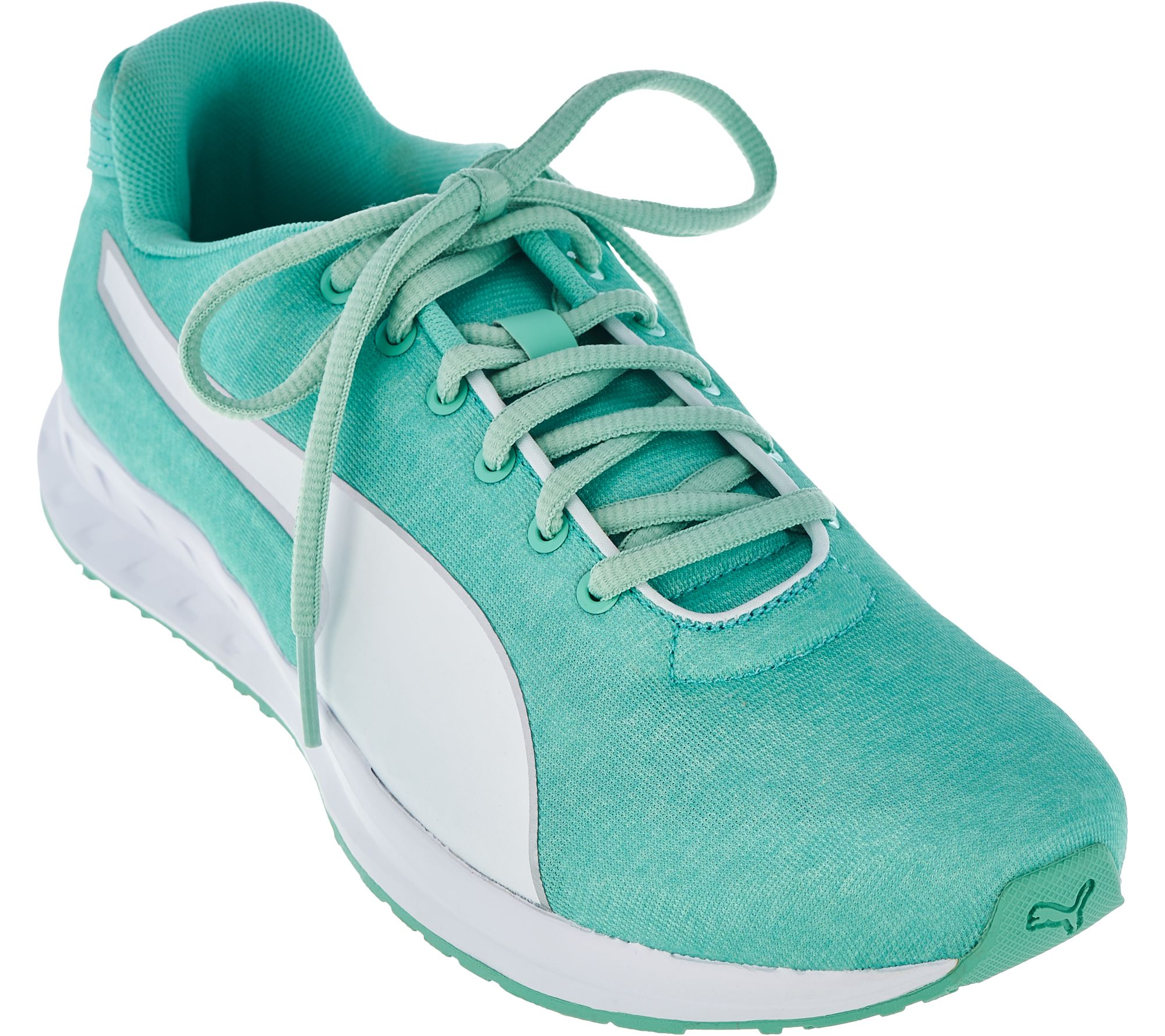 PUMA Heathered Jersey Lace-up Sneakers - Burst shopping online original tumblr cheap price o6cC4kUY7