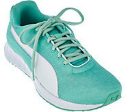 PUMA Heathered Jersey Lace-up Sneakers - Burst - A286318