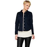 Women with Control My Wonder Denim Woven Twill Jacket - A287118