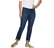 Laurie Felt Classic Denim Boyfriend Jeans - A295518