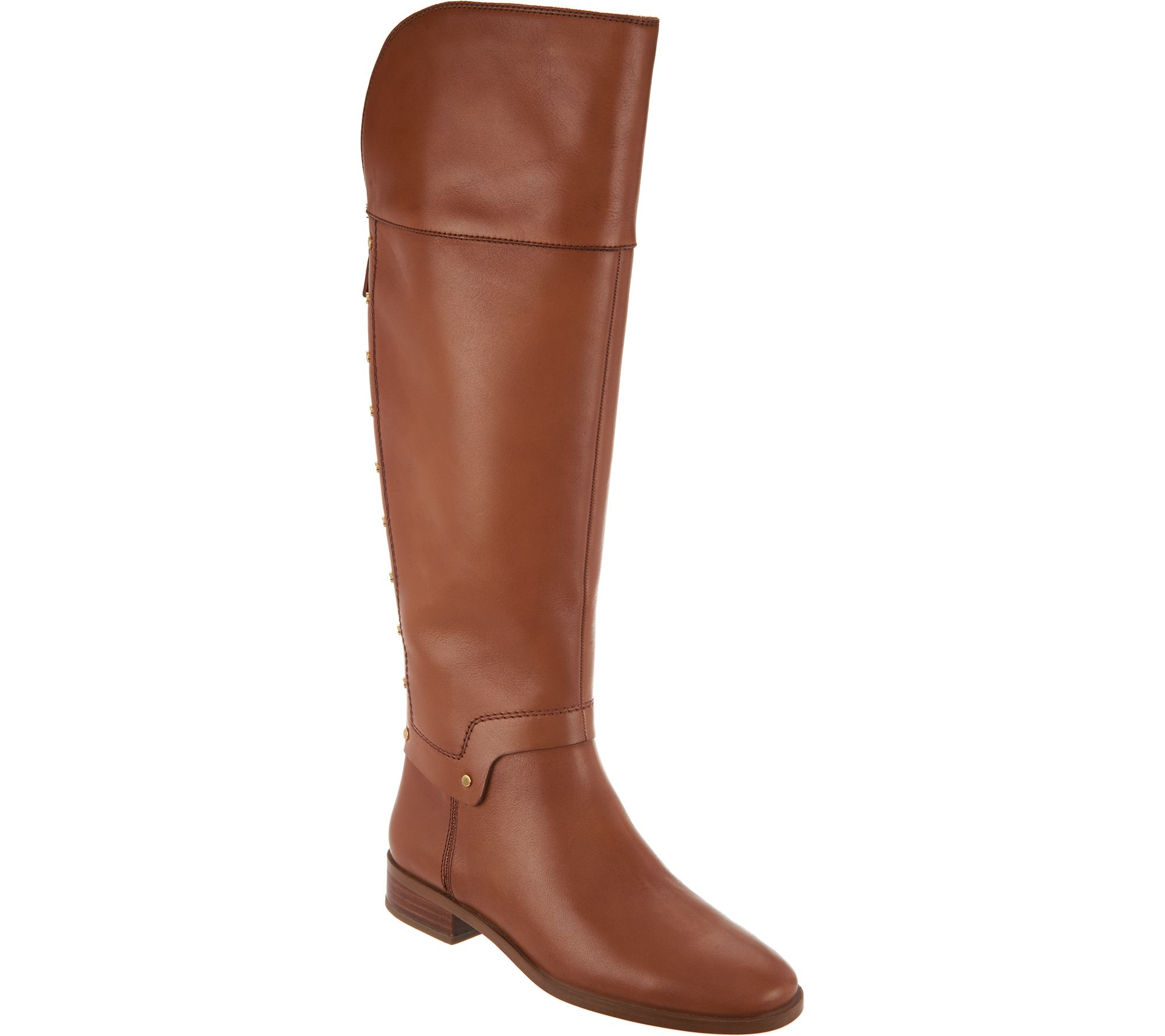 899d40cf497 Franco Sarto Leather Tall Shaft Boots - Roxanna - Page 1 — QVC.com