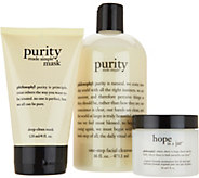 philosophy classic skin saviors skincare trio - A299118