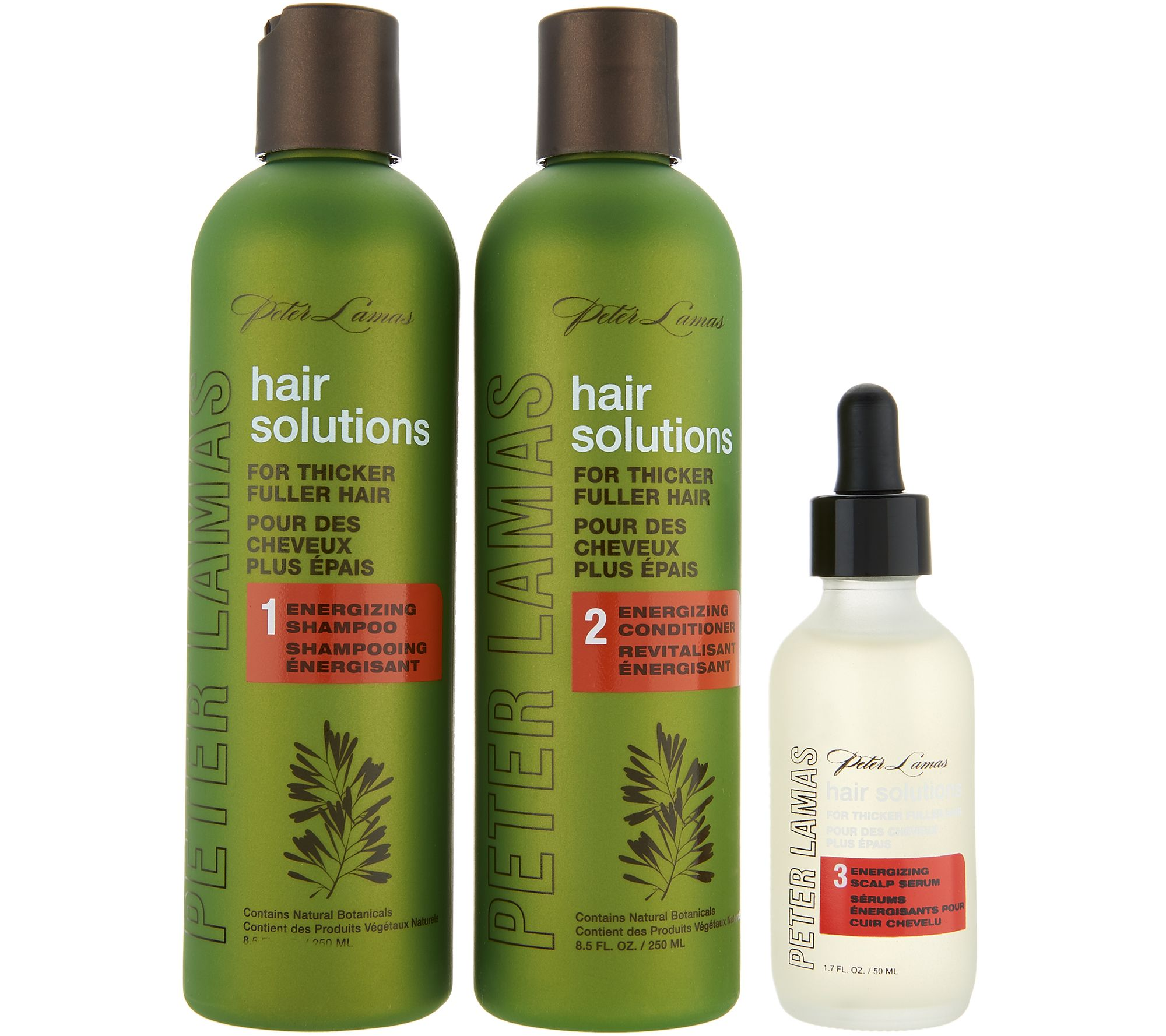 Peter Lamas Hair Solutions 3-Piece Shampoo & Conditioner w/ Scalp ...