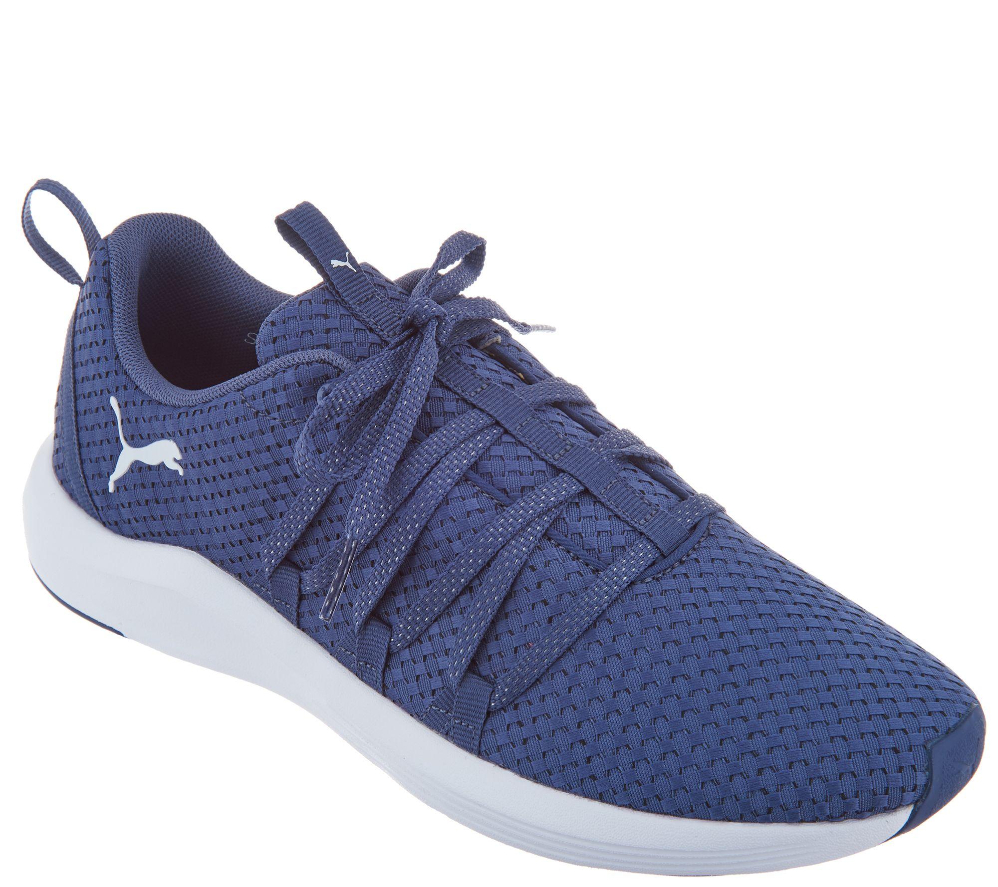 Puma Woven Mesh Lace Up Sneaker - Prowl Alt Weave - Page 1 — QVC.com d79174b42