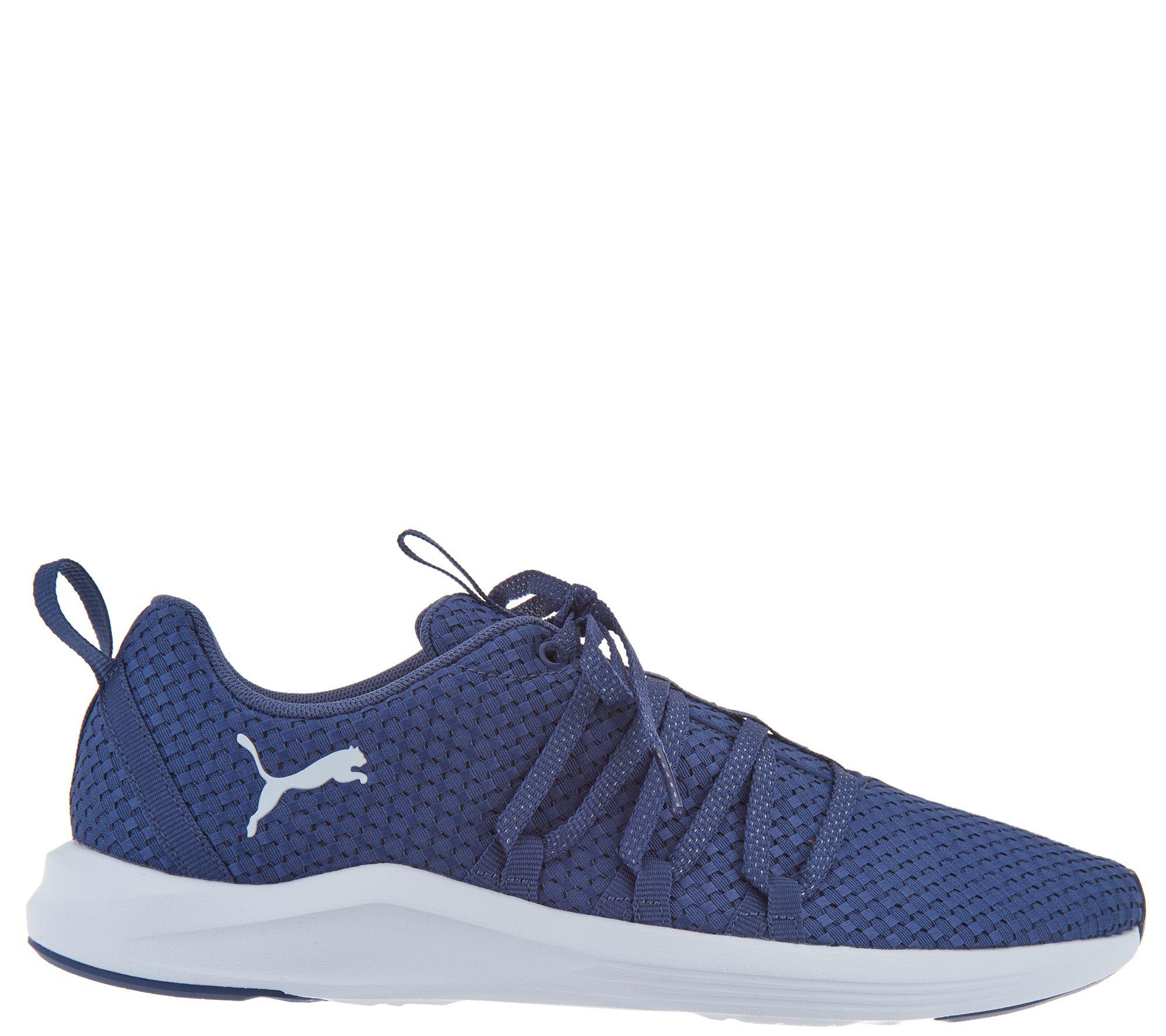 Puma Woven Mesh Lace Up Sneaker - Prowl Alt Weave - Page 1 — QVC.com 85513943d