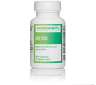 RestoreLife Formulas Joint Ease Capsules 30Day Supply