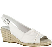 Easy Street Slingback Wedge Espadrilles - Kindly - A357918