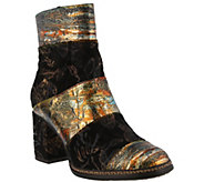 LArtiste by Spring Step Leather and Textile Boots - Whitney - A414818