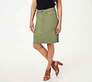 Jen7 by 7 For All Mankind Pencil Skirt - A424418