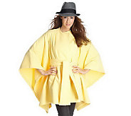 Luxe Rachel Zoe Double Faced Belted Cape - A199719