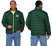 NFL Packable Down Quilted Jacket - A270919