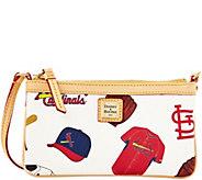 Dooney & Bourke MLB Cardinals Large Slim Wristlet - A280119