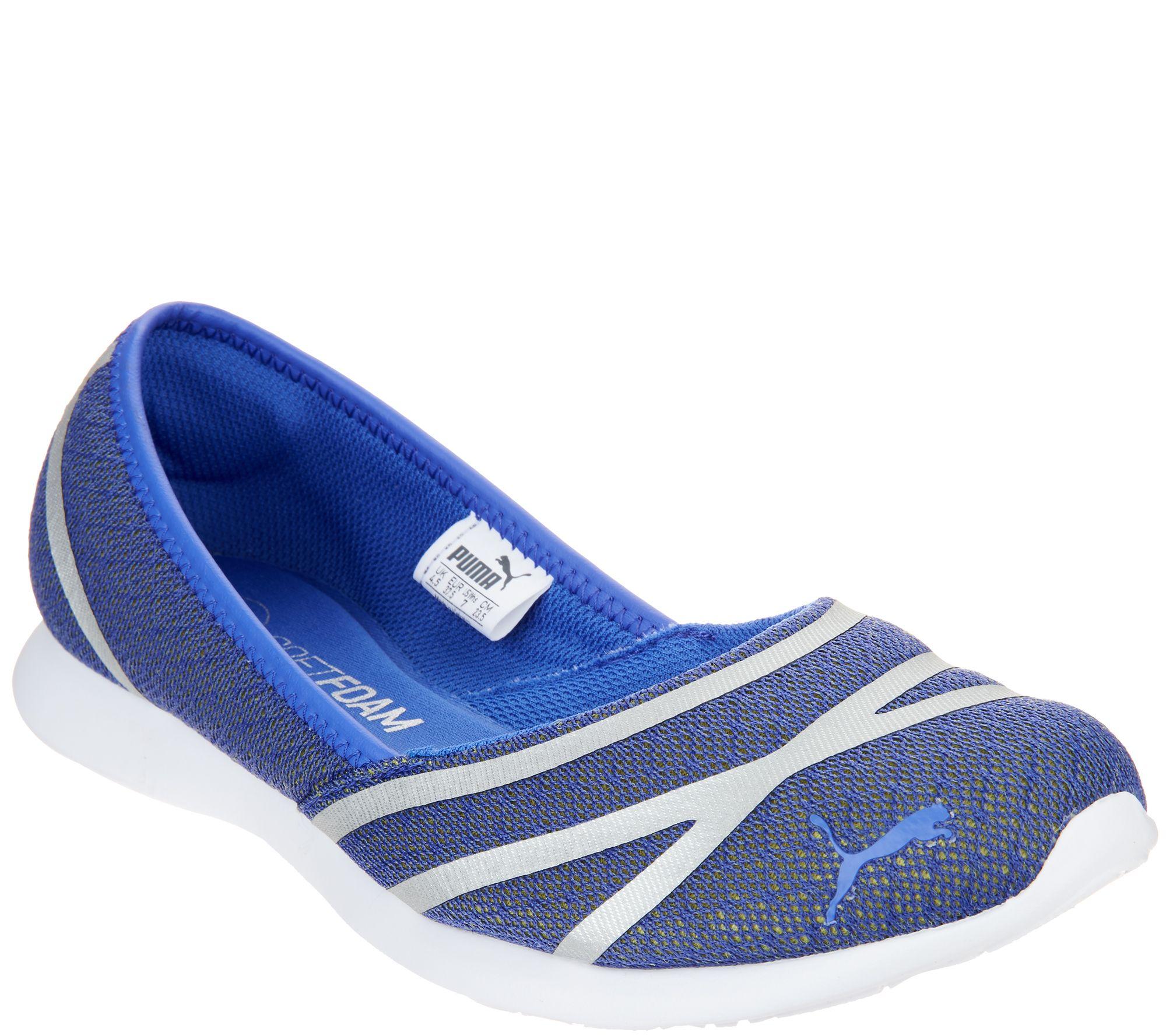 5bcf76d9f77 PUMA Mesh Slip-On Ballet Sneakers - Vega Ballet Mesh - Page 1 — QVC.com