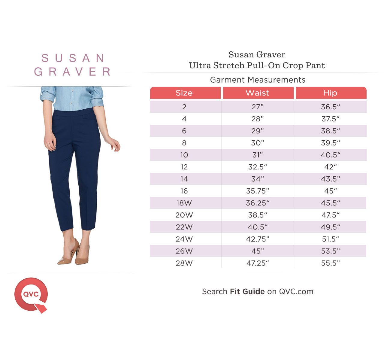 As Is Susan Graver Regular Ultra Stretch Pull On Crop Pants Qvc Com