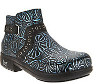Alegria Leather Embellished Ankle Boots - Zoey - A299319