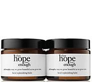 philosophy when hope is not enough facial balm duo - A308119