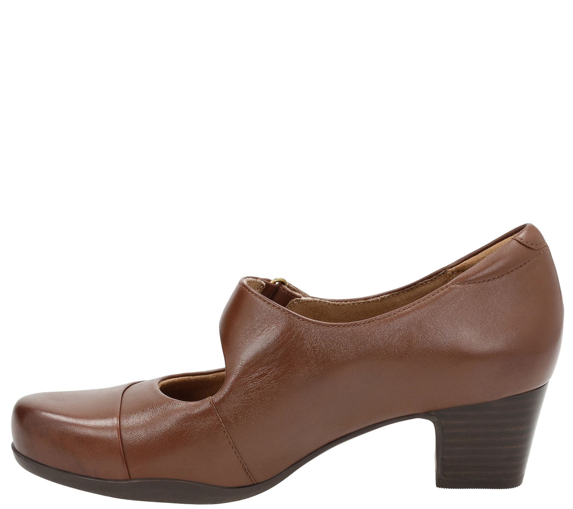 00af298387 Clarks Artisan Leather Mary Jane Pumps - Rosalyn Wren - Page 1 — QVC.com