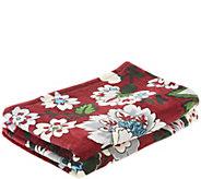 Vera Bradley Signature Print 50x80 Fleece Blanket - A342319