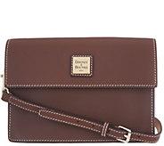 Dooney & Bourke Vachetta Leather East/West Flap Crossbody - A342819