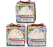 Fizz & Bubble Bubble Bath Cupcakes - Set of 3 - A363319