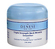 Dr. Denese Triple Strength Wrinkle Smoother Neck Cream, 2oz - A5619