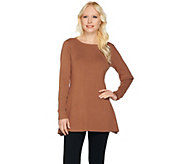 Linea by Louis DellOlio Whisper Knit Swing Sweater - A259620