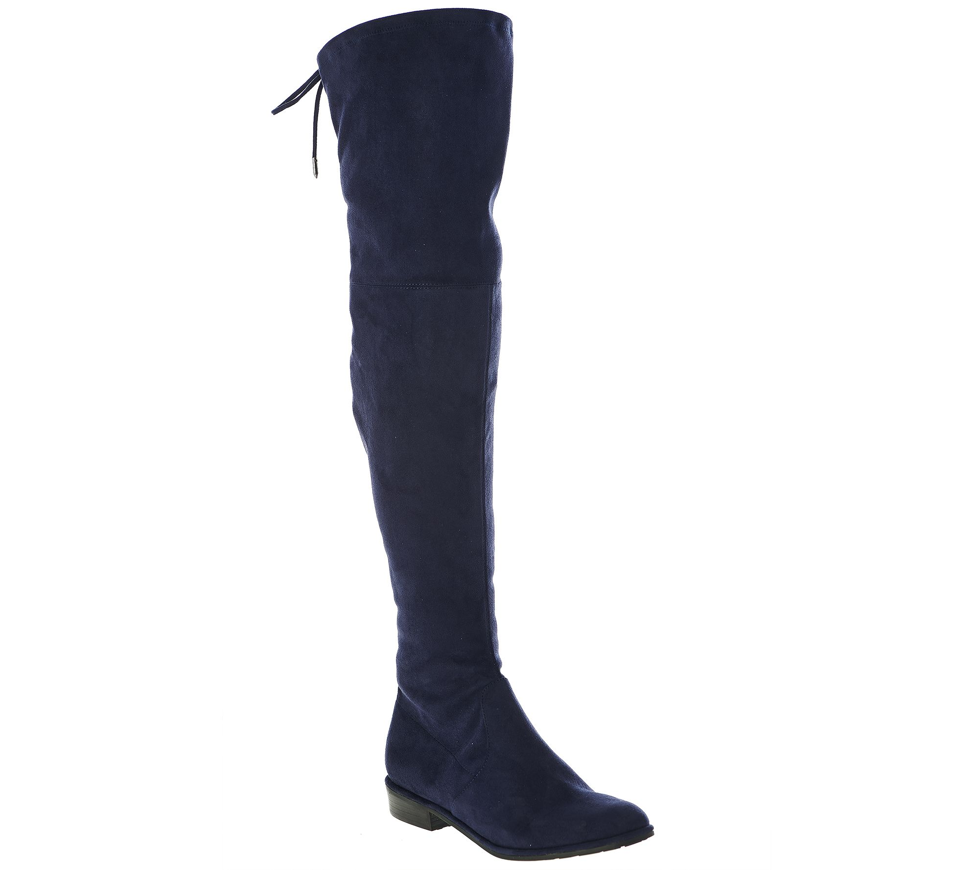 a96664f6290 Marc Fisher Faux-Suede Over the Knee Boots - Humor - Page 1 — QVC.com