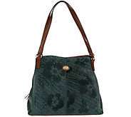 Tignanello Embossed Leather Triple Entry Astor Shopper - A289920
