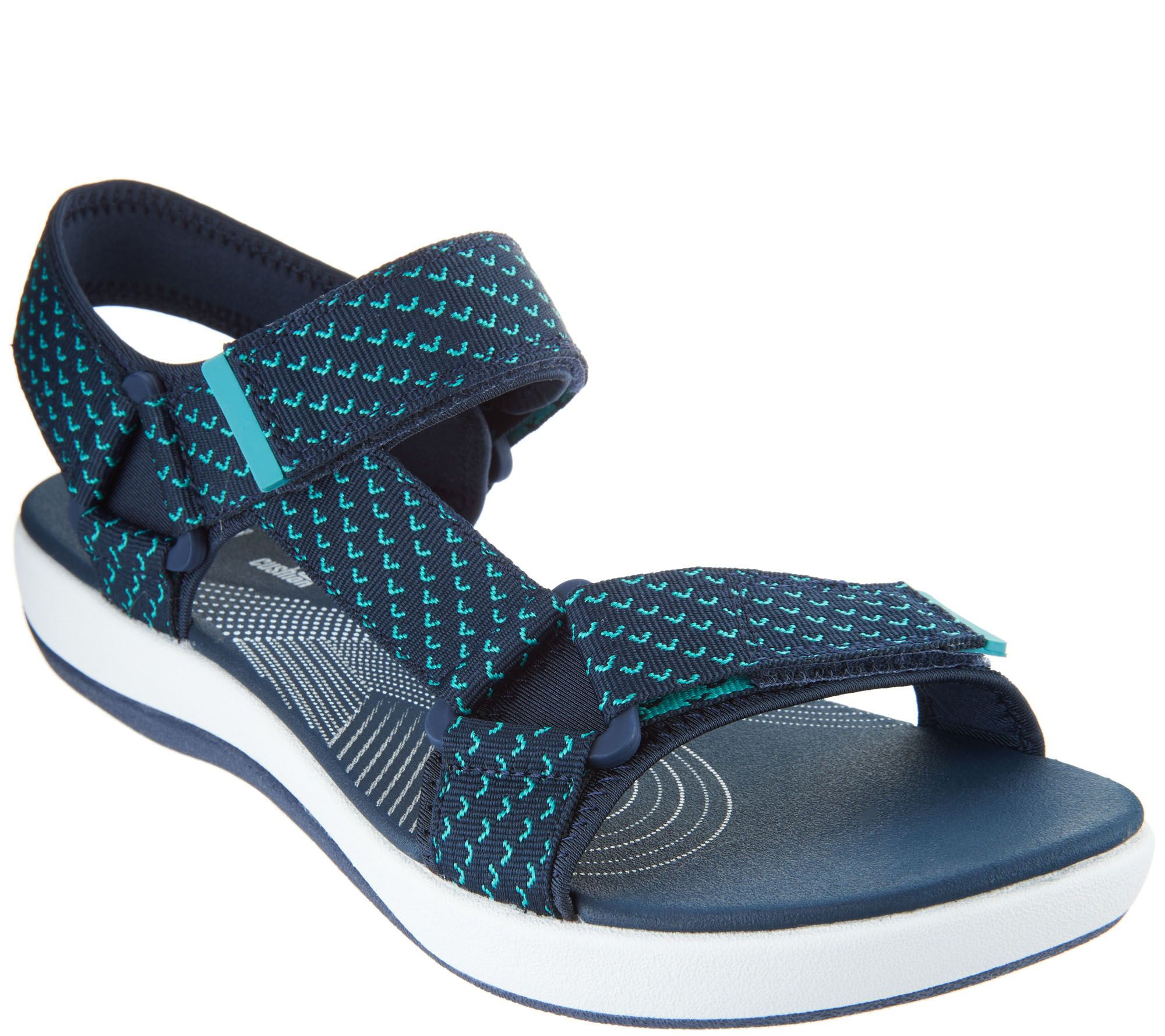 894e438fcc0 CLOUDSTEPPERS by Clarks Adjustable Sport Sandals - Brizo Cady - Page 1 —  QVC.com