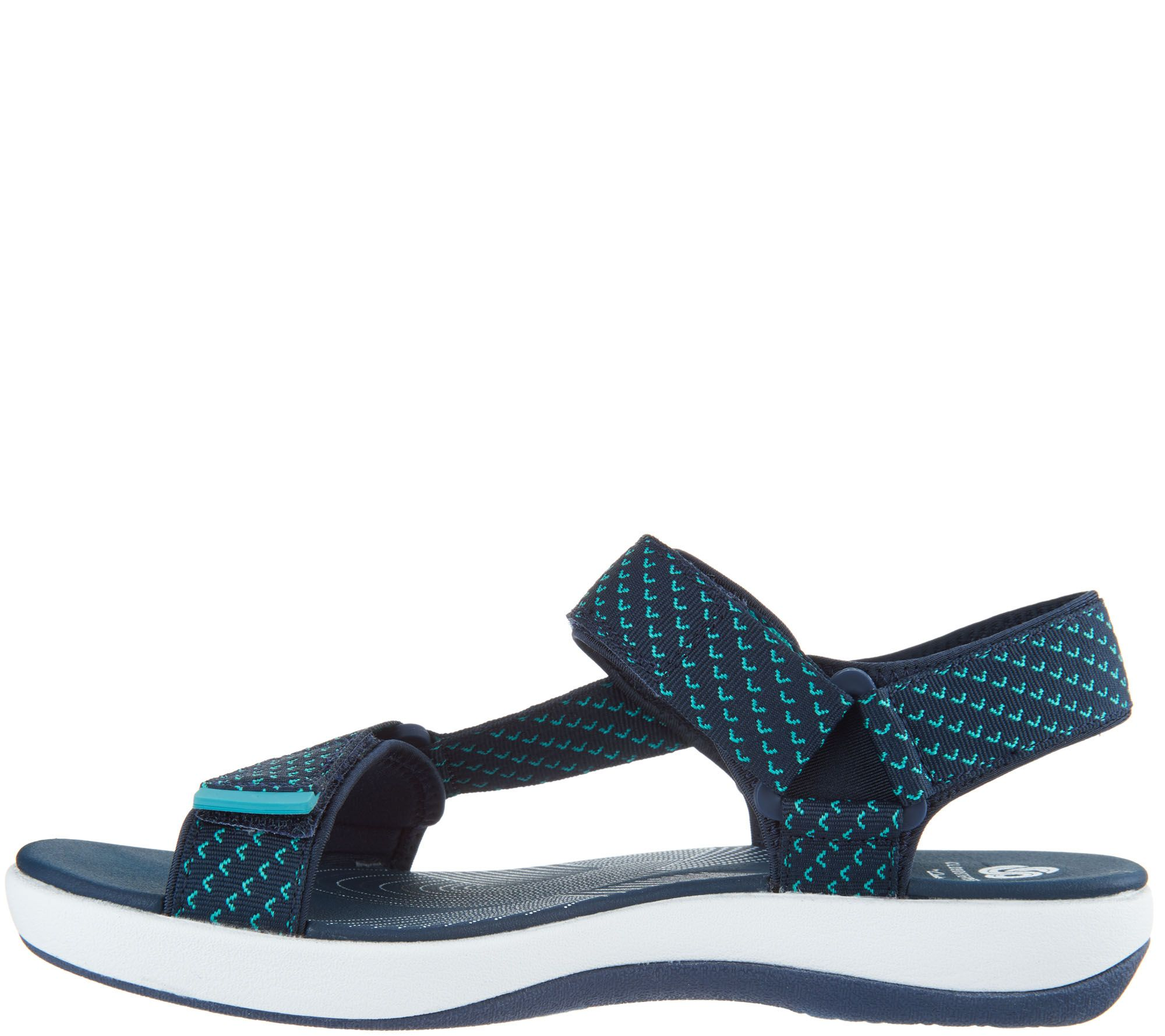 0cb7a3269124cd CLOUDSTEPPERS by Clarks Adjustable Sport Sandals - Brizo Cady - Page 1 —  QVC.com