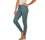 As Is LOGO Lavish by Lori Goldstein French Terry Joggers - A294520