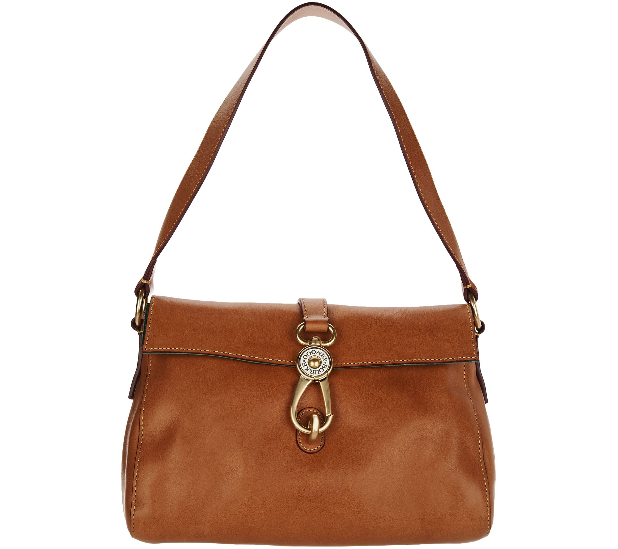 bc851519c0 Dooney   Bourke Florentine Hobo Handbag -Libby - Page 1 — QVC.com