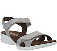 MEPHISTO Leather Quarter Strap Sandals - Francesca - A305420