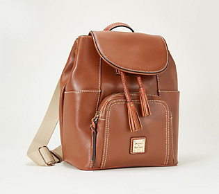 Dooney & Bourke Smooth Leather Large Backpack-